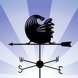Weathervane - бежать петух 5 Стоковая Фотография