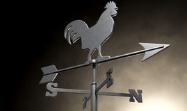 Weathervane Cockerel  Stock Photo