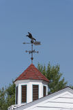 Weathervane on Country Barn Royalty Free Stock Images