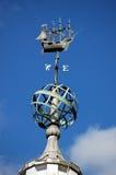 Weathervane do porto de Southampton imagem de stock royalty free
