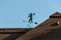 Weathervane roof bear Stock Images