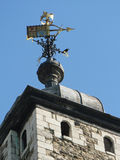 Weathervane, Tower von London Lizenzfreie Stockbilder