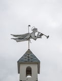 Weathervane w postaci anioła Obraz Stock