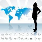 Weathet forecast Royalty Free Stock Photography