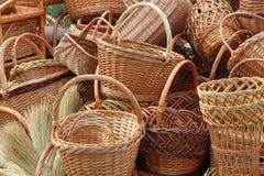 weave веников корзин Стоковое Фото
