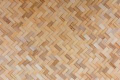Weave ремесленничества бамбуковый с handmade Стоковые Изображения