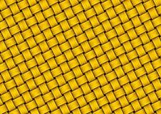 weave текстуры золота Стоковые Фото