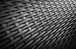 weave текстуры ротанга Стоковая Фотография RF