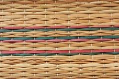 weave тростника цвета Стоковое фото RF