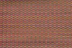 weave циновки родной тайский Стоковая Фотография