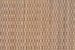 weave циновки родной тайский Стоковая Фотография RF