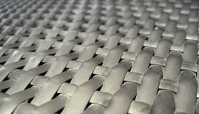 Weave. Macro view of a weaved texture taken from a chair Royalty Free Stock Image