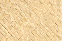 Текстура предпосылки weave соломы Стоковое Изображение