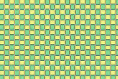 Weave background. Yellow and green color weave texture Royalty Free Stock Photo