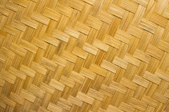 The weave of bamboo Stock Images