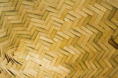 The weave of bamboo Stock Image