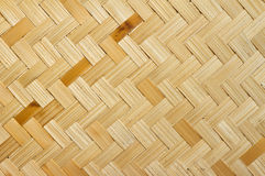 The weave of bamboo Royalty Free Stock Photos