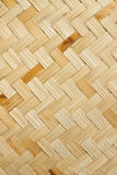 The weave of bamboo Stock Photography