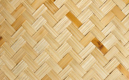 The weave of bamboo Royalty Free Stock Images