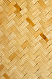 The weave of bamboo. Weave bamboo for background and texture Stock Photos