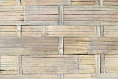 Weave of bamboo background texture Stock Photography
