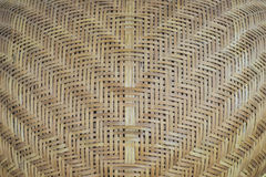 Weave bamboo. Brown craft plant Stock Images