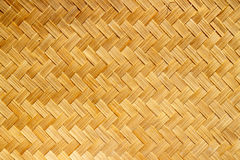 Weave bamboo. Brown pattern Thailand cultur background photo Stock Photo