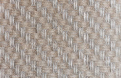 Weave bamboo. Pattern on the wall of retro house Stock Photos