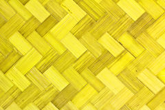 Weave Bamboo Texture Royalty Free Stock Photo
