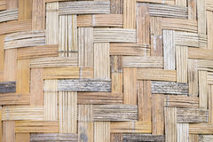 Weave bamboo texture Royalty Free Stock Photography