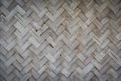 Weave bamboo Royalty Free Stock Photography