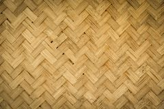Weave bamboo Royalty Free Stock Photo