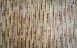 Weave bamboo texture. Weave brown bamboo texture close up Stock Photos