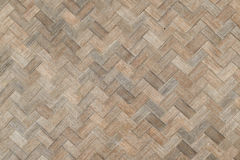 Weave bamboo wall texture. Background natural color Royalty Free Stock Photos