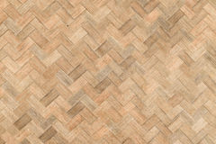 Weave bamboo wall texture Royalty Free Stock Photos