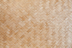 Weave bamboo. The walls of the hotel in agricultural areas Stock Images