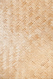 Weave bamboo. The walls of the hotel in agricultural areas Royalty Free Stock Photo
