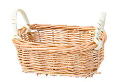 Weave basket Stock Photo