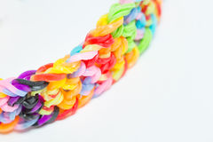 Weave Bracelets gums Royalty Free Stock Photo