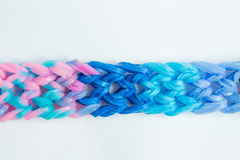 Weave Bracelets gums Stock Photography