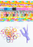 Weave Bracelets gums Royalty Free Stock Images