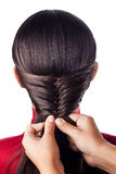 Weave braid isolate Stock Photography