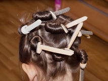 Weave braids Stock Image