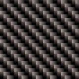 Weave da cruz da fibra do carbono ilustração royalty free
