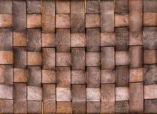Weave da textura de couro Imagens de Stock