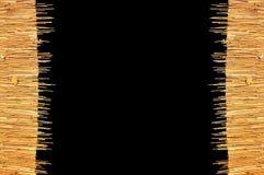 Weave dachowa Rama Fotografia Stock