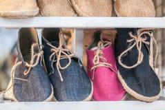 Weave das sapatas imagem de stock royalty free