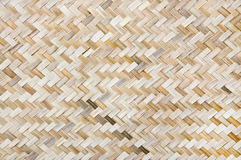 Weave de bambu Fotos de Stock Royalty Free