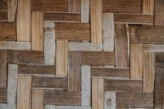 Weave de bambu Foto de Stock Royalty Free