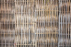Weave de bambu Imagens de Stock
